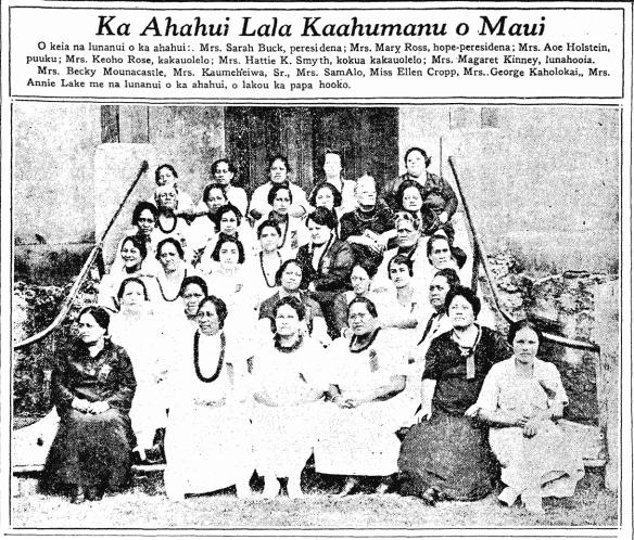 Ka Ahahui Lala Kaahumanu o Maui