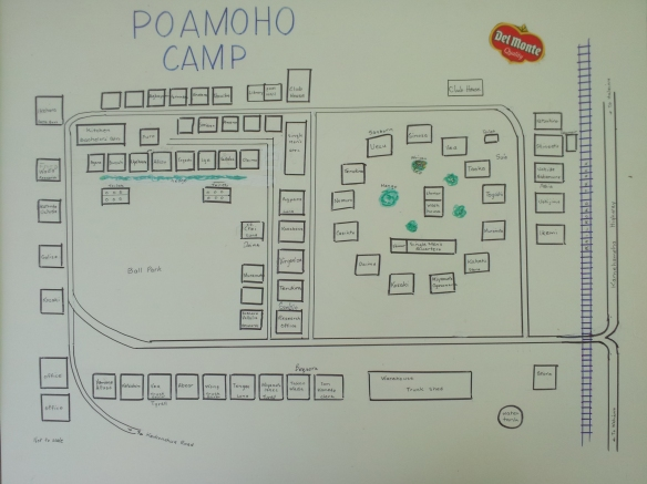 Poamoho Camp Map