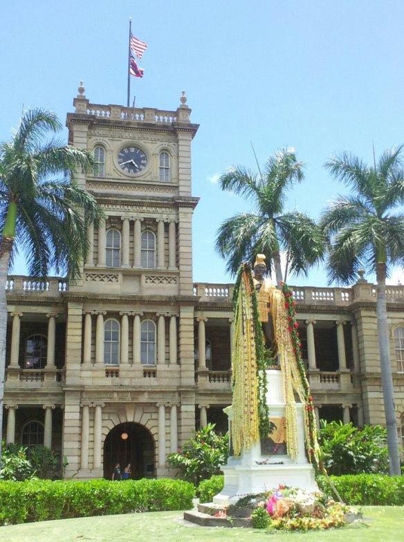 Kamehameha Statue. June 9, 2012