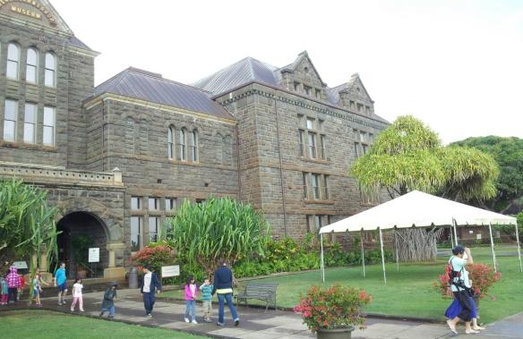 Bishop Museum, 12/19/2012.