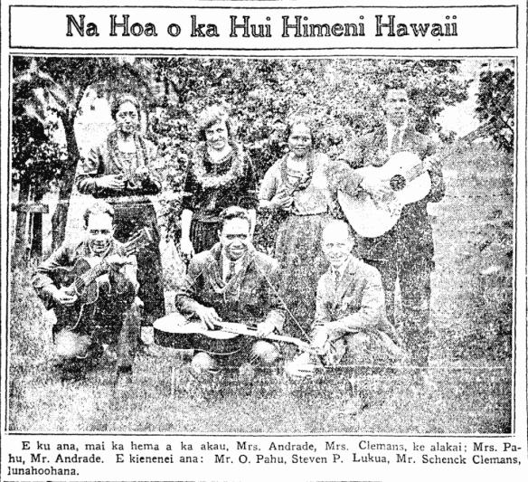 Na Hoa o ka Hui Himeni Hawaii