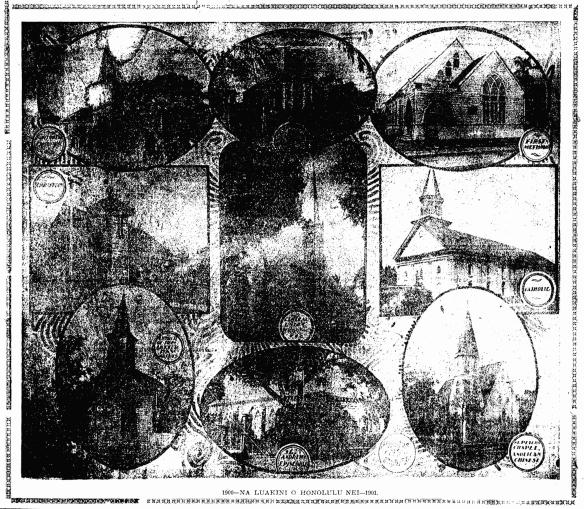 1900—CHURCHES OF HONOLULU NEI—1901.