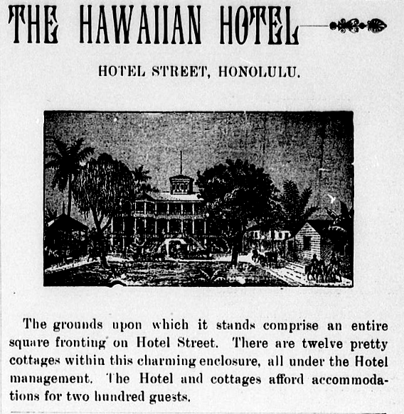 THE HAWAIIAN HOTEL