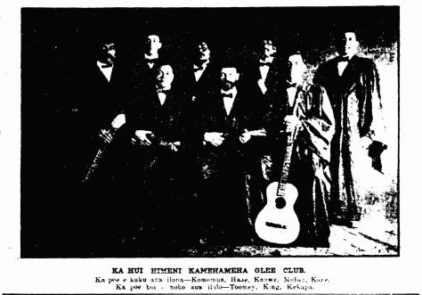 KA HUI HIMENI KAMEHAMEHA GLEE CLUB.