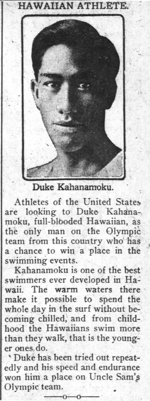 HAWAIIAN ATHLETE.