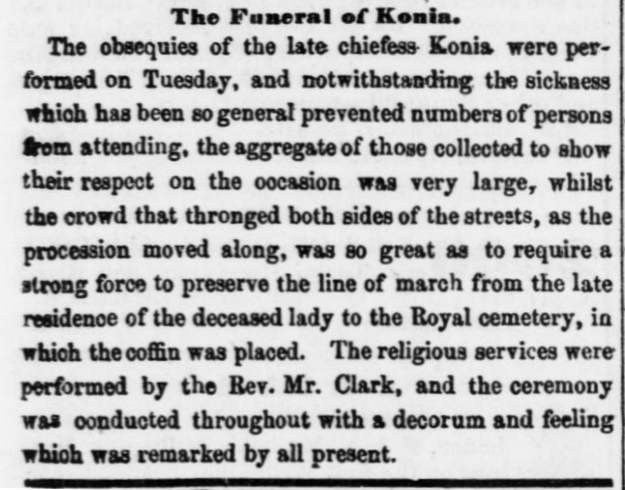 The Funeral of Konia.