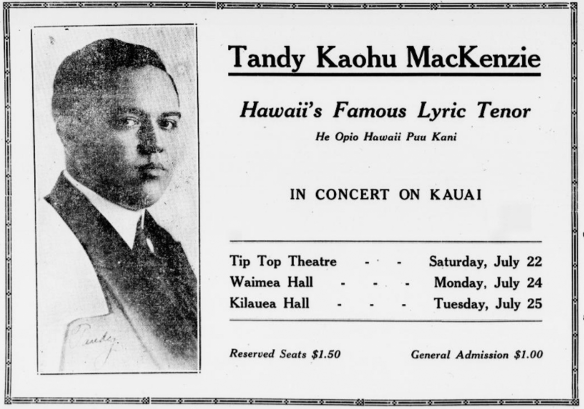 Tandy Kaohu MacKenzie